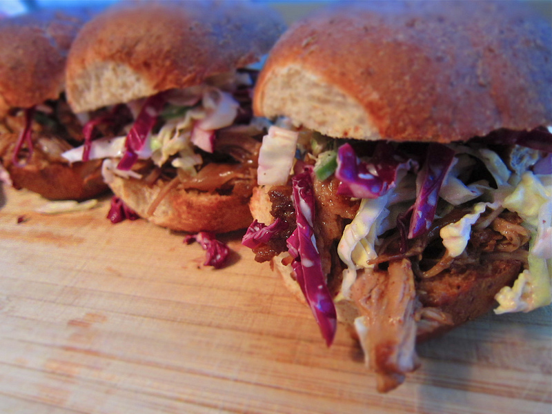 recipe: Pulled Pork Sliders w/Spicy Cabbage & Jalapeno Slaw
