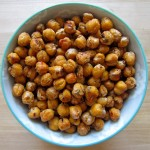 recipe: Spicy Oven-Roasted Chickpeas